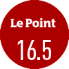 Le journal Le Point a noté le vin Double-magnum d'Amiral de Beychevelle 2016 16,5/20