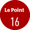 Le journal Le Point a noté le vin Château Gloria 2018 16/20