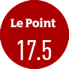 Le journal Le Point a noté le vin Château Cantenac Brown 2018 17,5/20