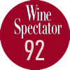 Note du magasine Wine Spectator Alter Ego 2017